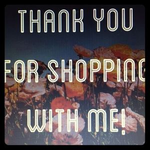 Thank You For Shopping 🛍 With Me-Merci/Gracias😊